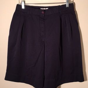 Elisabeth Navy Blue Shorts